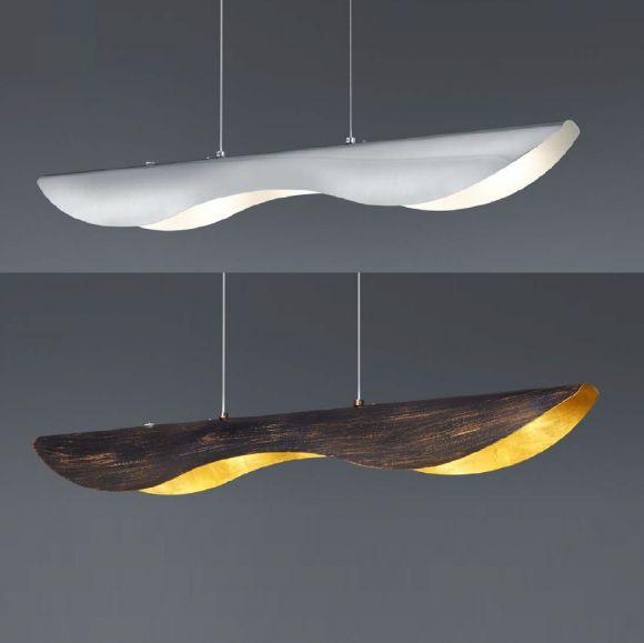 led pendelleuchte montreal silber oder braun wohnlicht. Black Bedroom Furniture Sets. Home Design Ideas
