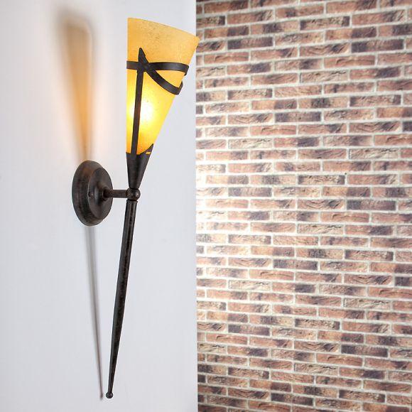 Wandfackel für stimmungsvolles Licht