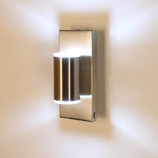 kleine led wandleuchte mit tollem lichtspiel wohnlicht. Black Bedroom Furniture Sets. Home Design Ideas