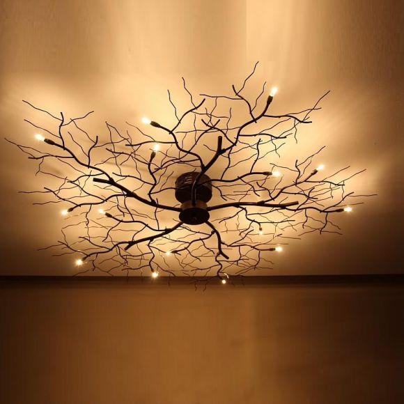 Design : Deckenleuchte Wohnzimmer Braun ~ Inspirierende Bilder Von ... Deckenleuchten Wohnzimmer Landhausstil
