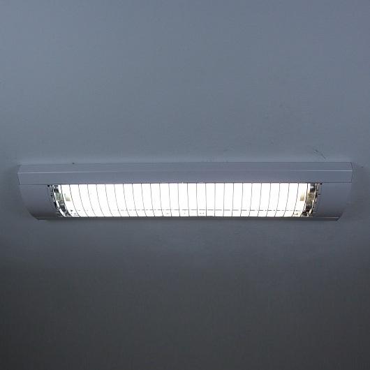 Rasterleuchte in Silber oder Weiß - Breite = 73,5cm