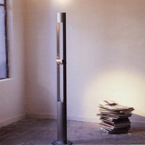 Fluter  in moderner Optik mit direktem und indirektem Licht- ideales Leselicht