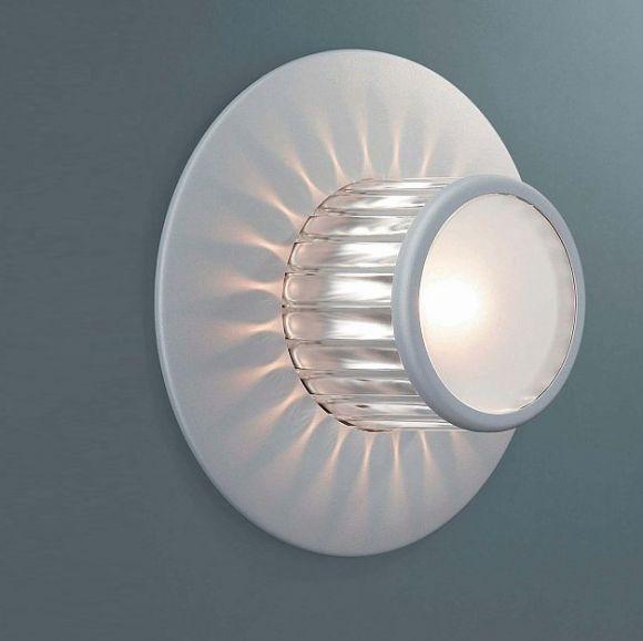 Highlight für Ihre Hauswand  Wandleuchte mit Sonnenstrahleffekt