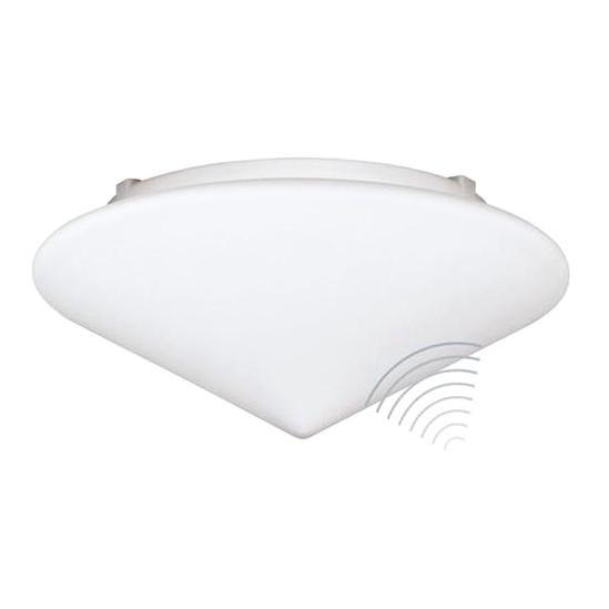 Sensor-Deckenleuchte mit Opalglas