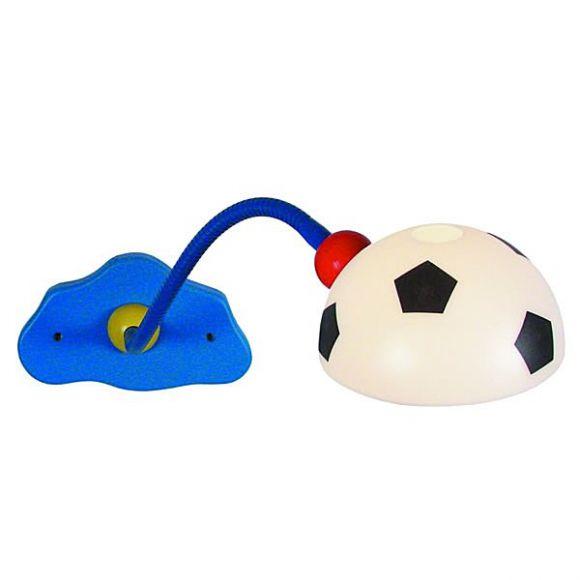 fu ball kinder wandlampe mit kunststoffglas wohnlicht. Black Bedroom Furniture Sets. Home Design Ideas