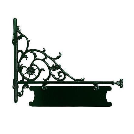 aush ngeschild zur individuellen beschriftung dunkelgr n lackiert wohnlicht. Black Bedroom Furniture Sets. Home Design Ideas