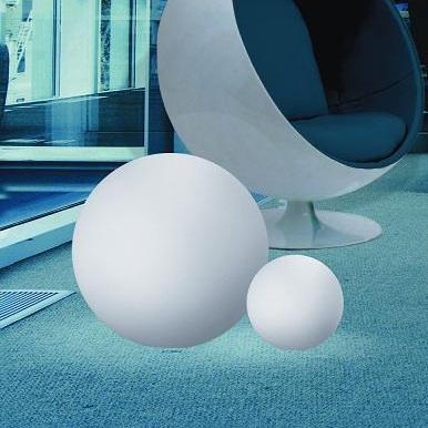 Kugelleuchte aus Polyethylen - bruch-beständig,  Ø 28cm - Innenbereich