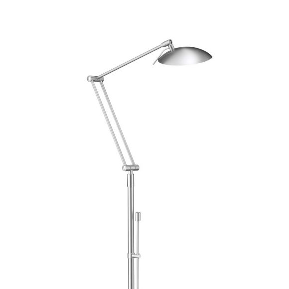 Hochwertige LED-Leseleuchte mit Tastdimmer in 3 verschiedenen Oberflächen erhältlich - inklusive LED 4x 4,5 Watt