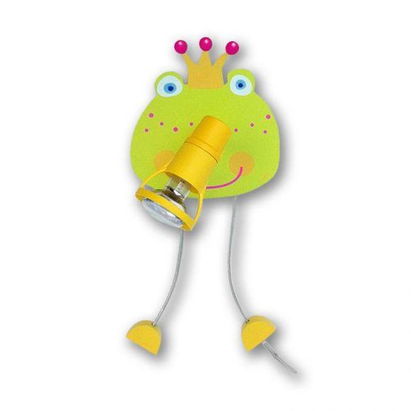 Kinderwandleuchte  Frosch - 1-flammig