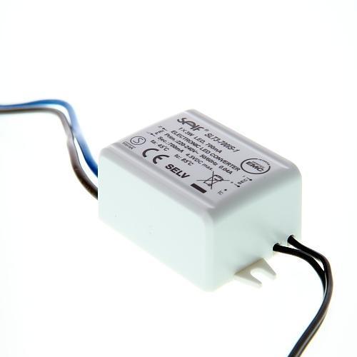 LED Treiber, 220-240V, 50/60Hz, 4.5V DC, max. 1 x 3W, 700mA