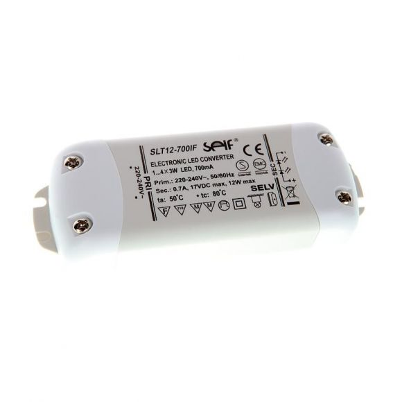 LED Treiber, 220-240V,50/60Hz, 17V DC, max. 1 x12W, 700mA