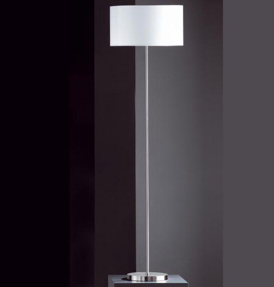 Schlichte Stehleuchte mit Stoffschirm 40cm - Höhe 151cm