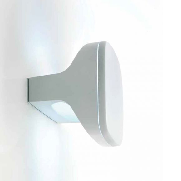 Design LED-Pollerleuchte SKY von LUCEPLAN - Höhe 16cm - mit Hochleistungs-LEDs, für Wand, Decke oder Boden