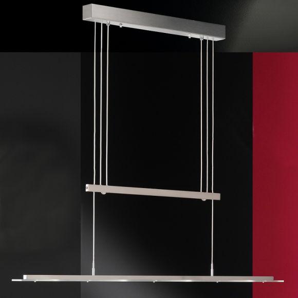 led pendelleuchte loder 4 flammig wohnlicht. Black Bedroom Furniture Sets. Home Design Ideas