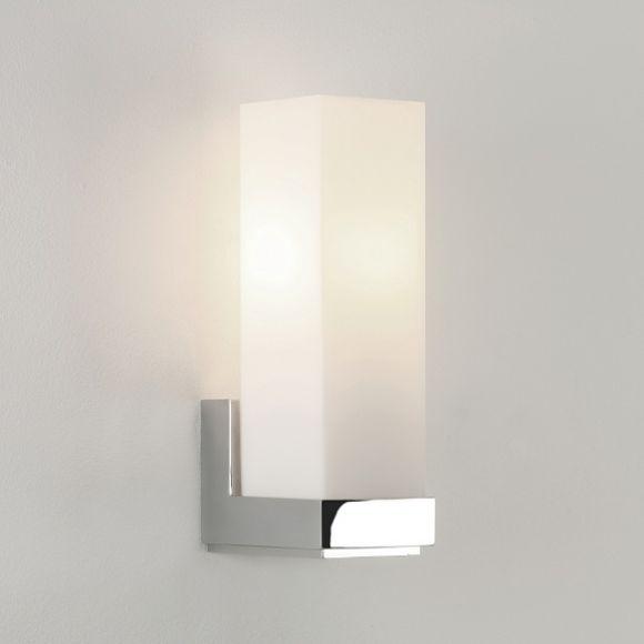 wandleuchte taketa chrom opalglas 1 flammig wohnlicht. Black Bedroom Furniture Sets. Home Design Ideas