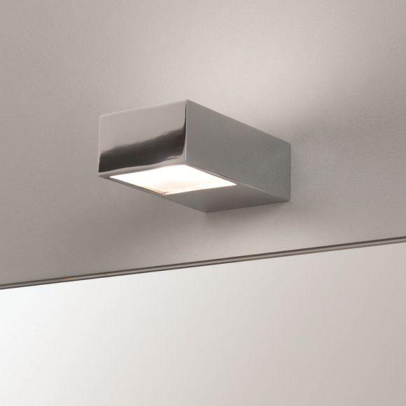 Moderne Badezimmer Wandleuchte - Up- und Downlight - Chrom - Eckig