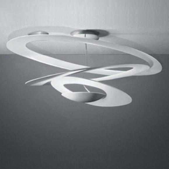 Artemide deckenleuchte pirce lichtobjekt der for Moderne deckenlampen