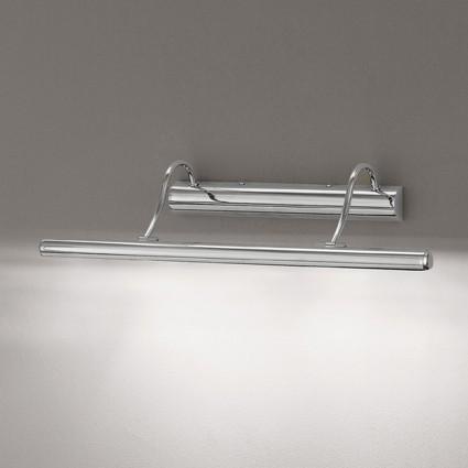Bilderleuchte Länge 60cm in Chrom inkl. Leuchtmittel