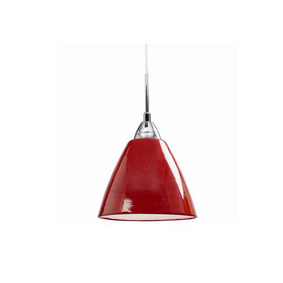 Pendelleuchte mit Metallschirm 20 cm in trendigen Farben