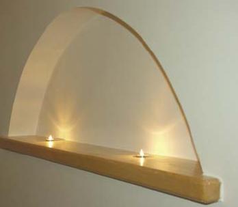 Decken-Einbauspot für einen Sternenhimmel - für den Innenbereich in 2 Oberflächen