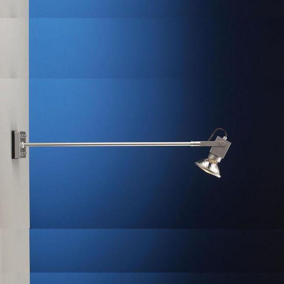 Display Wandleuchte / Strahler für Werbeflächen - Länge 72cm - in 3 Oberflächen