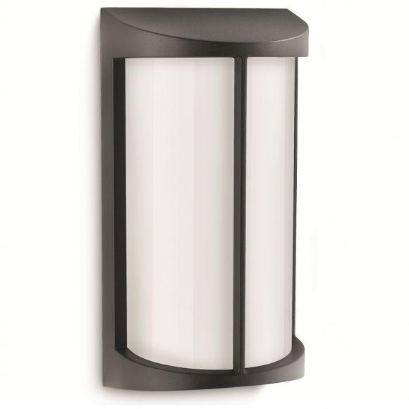 moderne wandleuchte f r den au enbereich aluminium kunststoff 3 farben wohnlicht. Black Bedroom Furniture Sets. Home Design Ideas