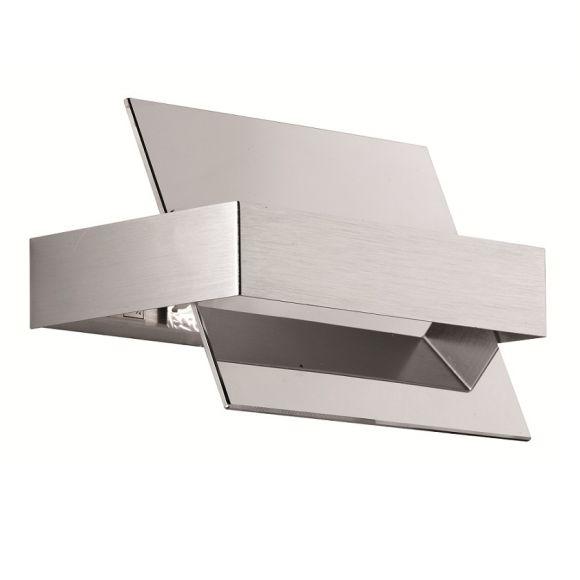 moderne wandleuchte chrom lichtaustritt nach oben und unten wohnlicht. Black Bedroom Furniture Sets. Home Design Ideas
