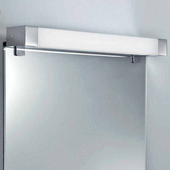 spiegelleuchte zum klemmen seitlich oder oben in chrom. Black Bedroom Furniture Sets. Home Design Ideas