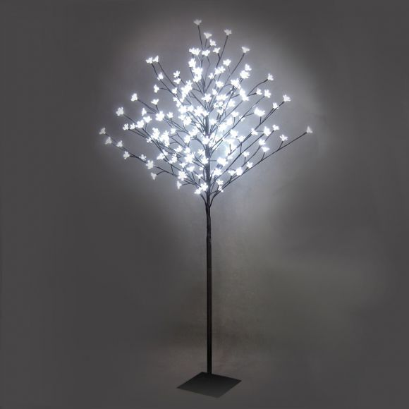 Dekoleuchte Baum LED-Standleuchte für Außen in Baum-Optik mit ...