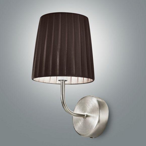 moderne wandleuchte plissee stoff lampenschirm 3. Black Bedroom Furniture Sets. Home Design Ideas