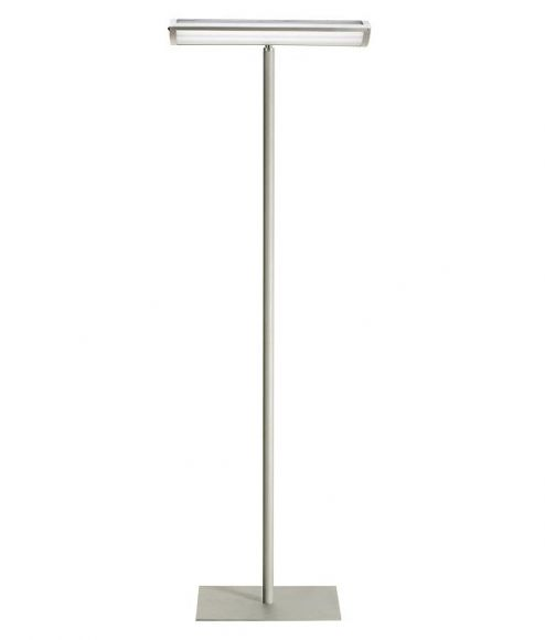 Standleuchte für den modernen Wohn- oder Officebereich   4x20Watt  G5  mit Reflektor