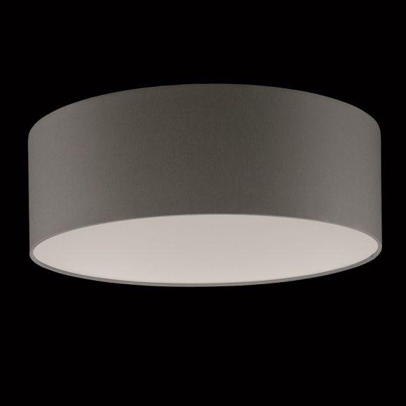 runder lampenschirm chintz stoff grau 40 cm wohnlicht. Black Bedroom Furniture Sets. Home Design Ideas