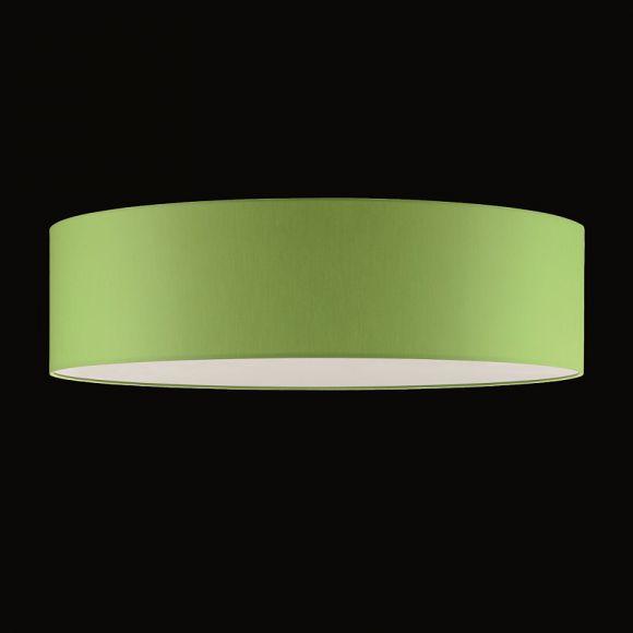 runder lampenschirm chintz stoff apfelgr n 50 cm wohnlicht. Black Bedroom Furniture Sets. Home Design Ideas