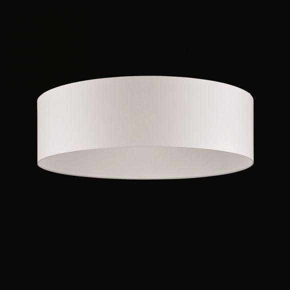 runder lampenschirm chintz stoff weiss durchmesser 60 cm wohnlicht. Black Bedroom Furniture Sets. Home Design Ideas