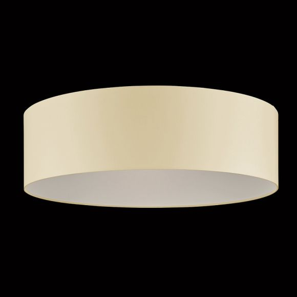 runder lampenschirm chintz stoff cremefarben 60 cm wohnlicht. Black Bedroom Furniture Sets. Home Design Ideas