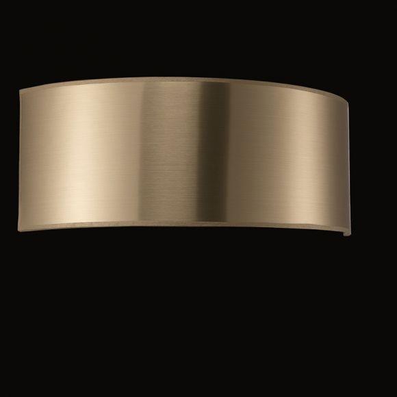lampenschirm zur wandleuchte pvc gold innen gold. Black Bedroom Furniture Sets. Home Design Ideas