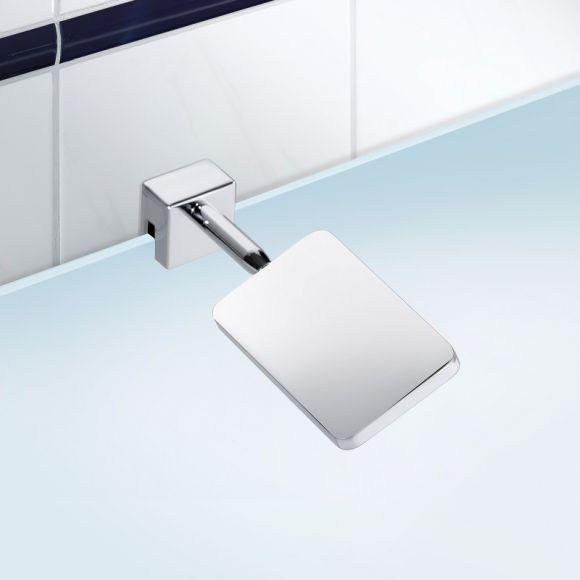 Schicke led spiegelklemmleuchte f rs badezimmer in chrom for Schicke badezimmer