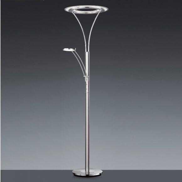 dimmbarer led fluter mit leselicht lichtfarbe einstellbar wohnlicht. Black Bedroom Furniture Sets. Home Design Ideas