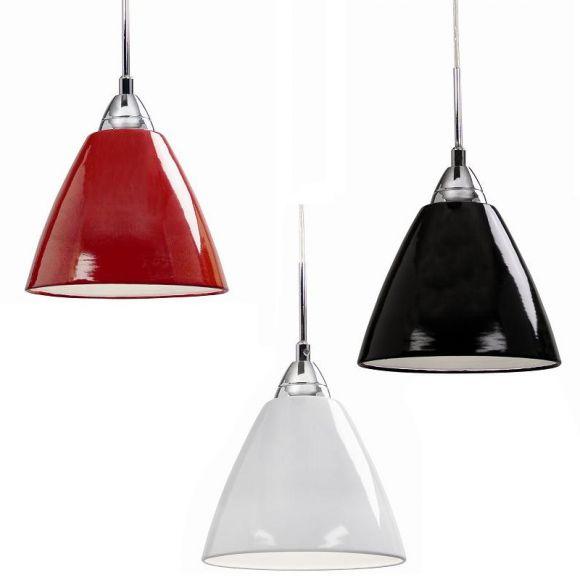 Moderne Pendelleuchte mit Metallschirm Ø20cm in trendigen Farben