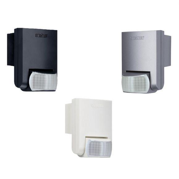 bewegungsmelder mit infrarot sensor f r innen und au en in drei farben wohnlicht. Black Bedroom Furniture Sets. Home Design Ideas