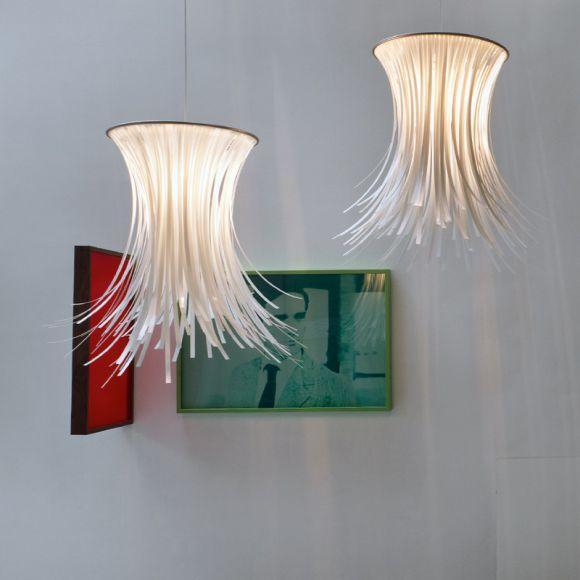 Pendelleuchte BETY Ø65cm von ARTURO ALVAREZ - in schwarz oder weiß