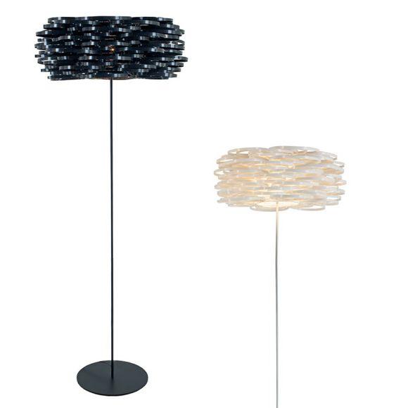 stehleuchte aros h he 188cm 2 farben wohnlicht. Black Bedroom Furniture Sets. Home Design Ideas