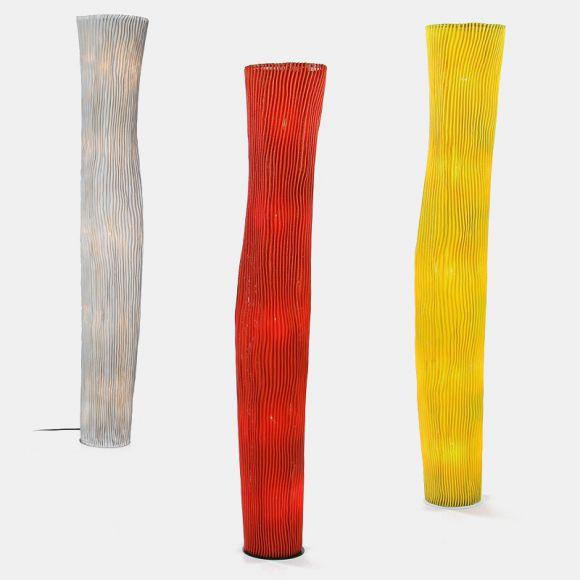 5 flammige designer stehleuchte gea h he 180 cm mit dimmer wohnlicht. Black Bedroom Furniture Sets. Home Design Ideas