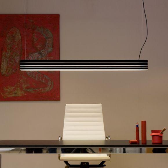 pendelleuchte norman l nge 119cm glas in 11 farben w hlbar wohnlicht. Black Bedroom Furniture Sets. Home Design Ideas