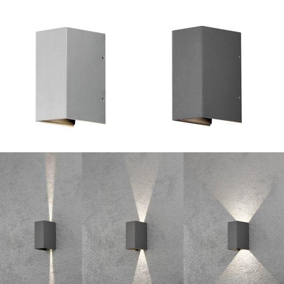 moderne led au enwandleuchte up downlight wohnlicht. Black Bedroom Furniture Sets. Home Design Ideas