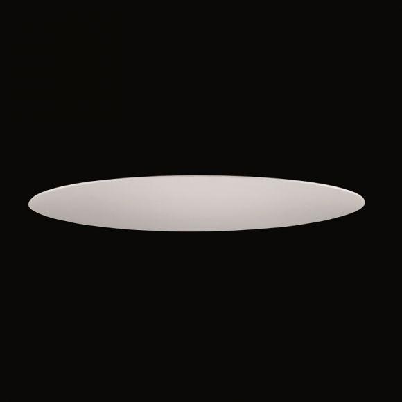 sichtblende zur deckenleuchte f r 60 cm durchmesser acrylglas oder chintz stoff wei wohnlicht. Black Bedroom Furniture Sets. Home Design Ideas