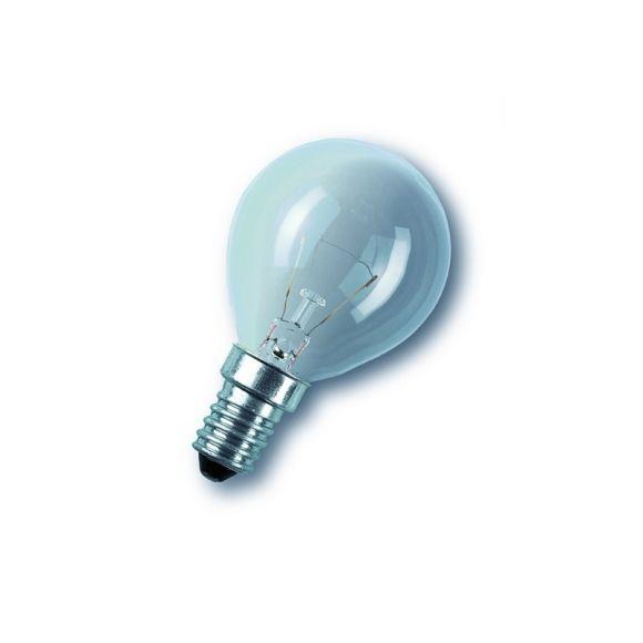 D45 E14 Tropfen klar Stoßfestes Leuchtmittel