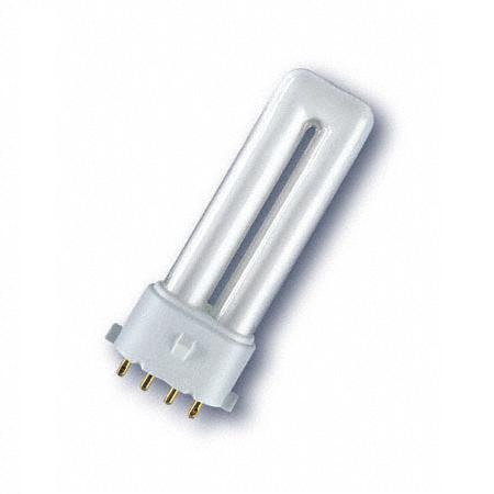 Energiesparlampe  Osram Dulux S/E  2G7 für EVG 11W hellweiß 4.000K