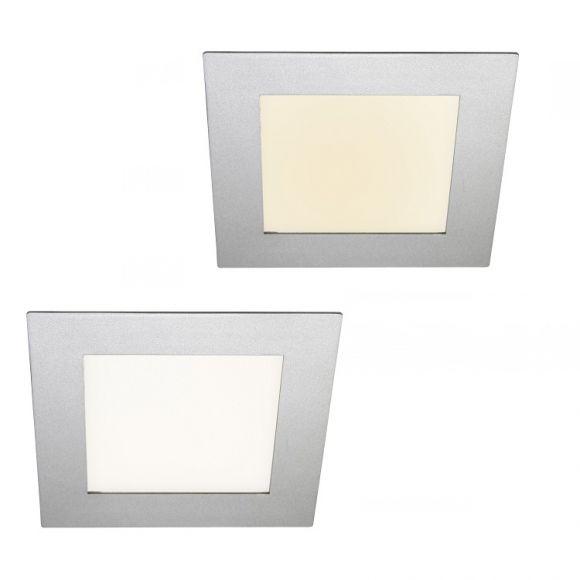 Außen LED Einbauleuchte für den Deckeneinbau 84 LED in warm-weiss