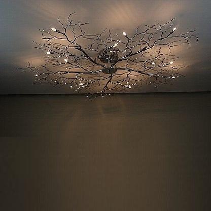 deckenleuchte tree xxl in chrom wohnlicht. Black Bedroom Furniture Sets. Home Design Ideas